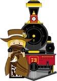 Cartoon Cowboy Stock Images