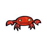 Cartoon crab Stock Images