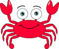 Cartoon Crab Stock Photo