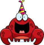 Cartoon Crab Birthday Party Royalty Free Stock Photo