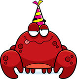 Cartoon Crab Drunk Party Royalty Free Stock Photography