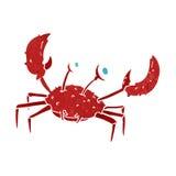 Cartoon crab Royalty Free Stock Image
