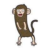 cartoon crazy monkey Stock Photos