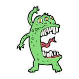 cartoon crazy monster Royalty Free Stock Photography
