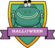 Cartoon Creature Halloween Graphic Stock Photo