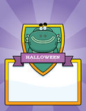 Cartoon Creature Halloween Graphic Royalty Free Stock Photo