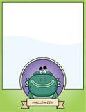 Cartoon Creature Halloween Graphic Stock Image