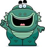 Cartoon Creature Idea Royalty Free Stock Image