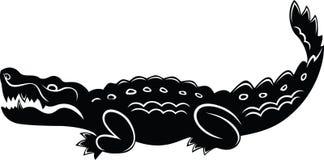 Cartoon crocodile Stock Photos