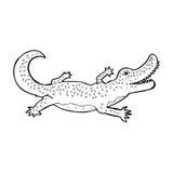 cartoon crocodile Stock Photo