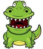 Cartoon crocodile Royalty Free Stock Photo