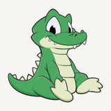 Cartoon Crocodile Stock Images