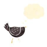 Cartoon crow Stock Photo