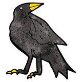 Cartoon crow Stock Photos