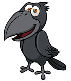 Cartoon crow Royalty Free Stock Photography