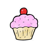 cartoon cup cake Royalty Free Stock Image