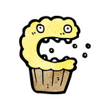 Cartoon cupcake Royalty Free Stock Photos