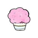 Cartoon cupcake Stock Photos