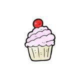 Cartoon cupcake Royalty Free Stock Photo