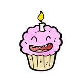 Cartoon cupcake Stock Photo