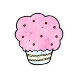 Cartoon cupcake Royalty Free Stock Photography