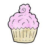 Cartoon cupcake Royalty Free Stock Photo