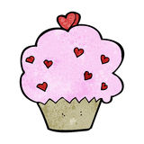 Cartoon cupcake Royalty Free Stock Image
