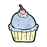 Cartoon cupcake Royalty Free Stock Photography