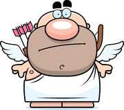 Cartoon Cupid Bored Royalty Free Stock Photography