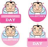 Cartoon Cupid Graphic Royalty Free Stock Image