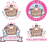 Cartoon Cupid Graphic Stock Photography