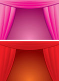 Cartoon Curtain Stock Photo