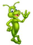 Cartoon cute alien Royalty Free Stock Photos