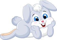 Cartoon cute bunny Stock Photos