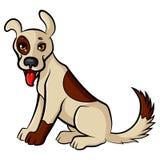 Cartoon cute dog Royalty Free Stock Photos