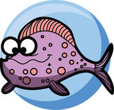 Cartoon cute Fish,vector Stock Photography