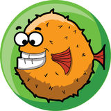 Cartoon cute fish,vector Royalty Free Stock Images