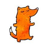 Cartoon cute fox Stock Images