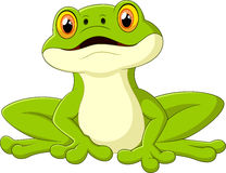 Cartoon cute frog Royalty Free Stock Images