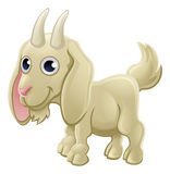 Cartoon Cute Goat Farm Animal Royalty Free Stock Photos