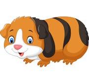 Cartoon cute guinea pig Royalty Free Stock Photos