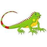 Cartoon cute lizard Stock Photo