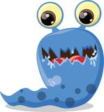 Cartoon cute monsters,vector Royalty Free Stock Photography