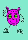 Cartoon cute monsters Royalty Free Stock Photo