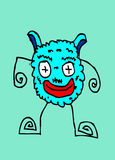 Cartoon cute monsters Royalty Free Stock Images