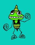 Cartoon cute monsters Stock Photo