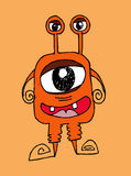 Cartoon cute monsters Royalty Free Stock Photos