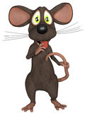 Cartoon cute Mouse Royalty Free Stock Photo