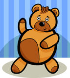 Cartoon Cute Teddy Bear Royalty Free Stock Photo