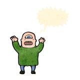 Cartoon cyclops Stock Image